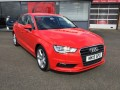 Audi A3 2.0 Tdi Sport 4dr Only 28k Sat Nav Misano Red 20 Road Tax